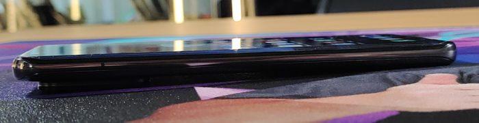 Xiaomi Mi 11 Ultra dicker Kamerabuckel, seitliche Ansicht
