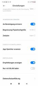 Poco F3 Screenshoots Werbung im System