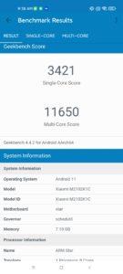 Xiaomi Mi 11 Ultra Screenshots Performance