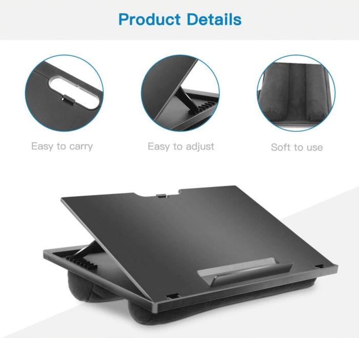 2021 05 04 09 40 13 HUANUO Laptopkissen Hoehenverstellbar fuer max. 156   Amazon.de  Computer  Zube