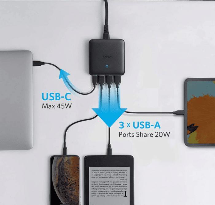 2021 05 06 20 38 26 Anker PowerPort Atom III Slim USB C Ladegeraet 65W  Amazon.de  Computer  Zubehoe
