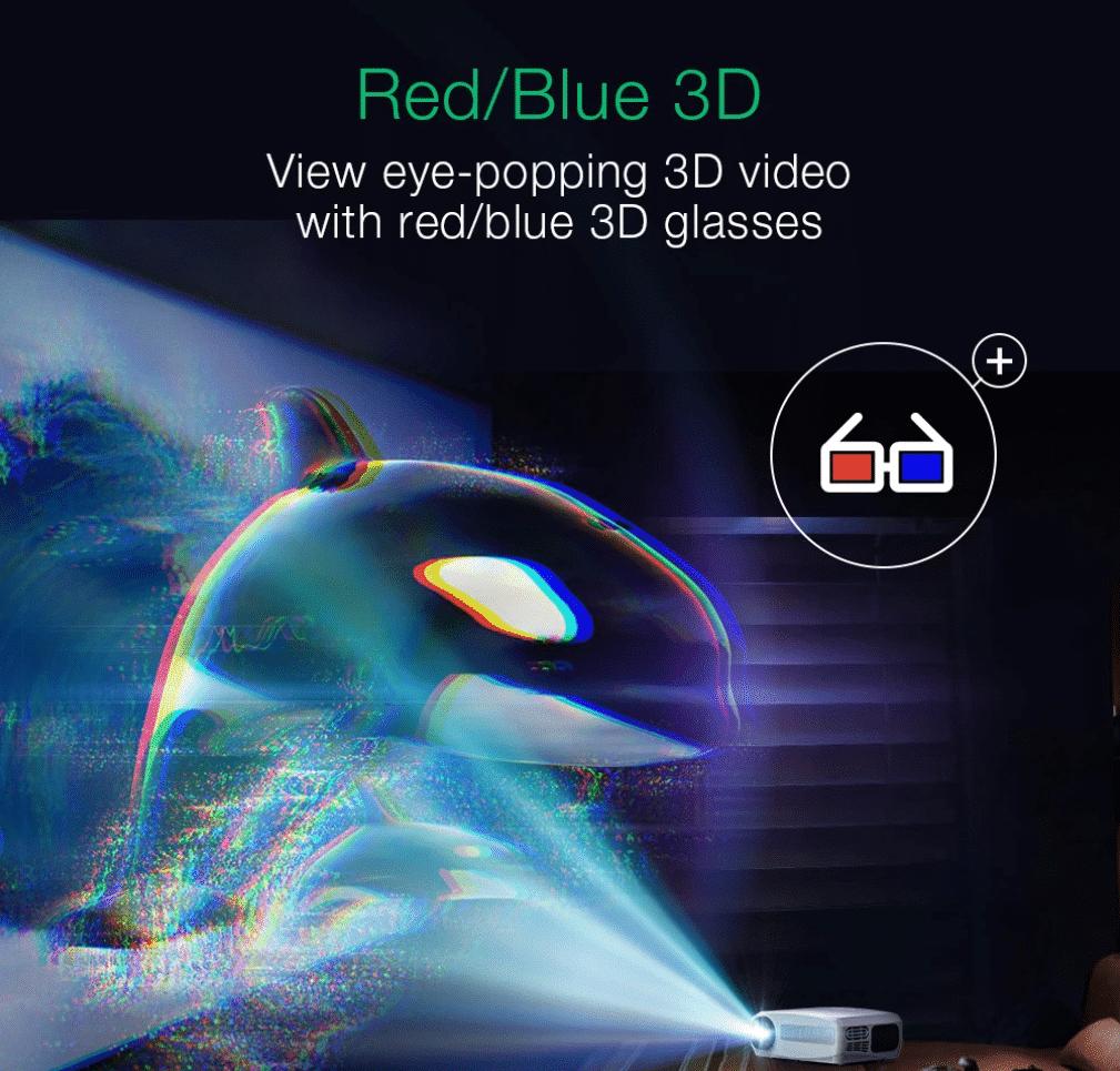 BlitzWolf BW-VP6 Beamer 3D