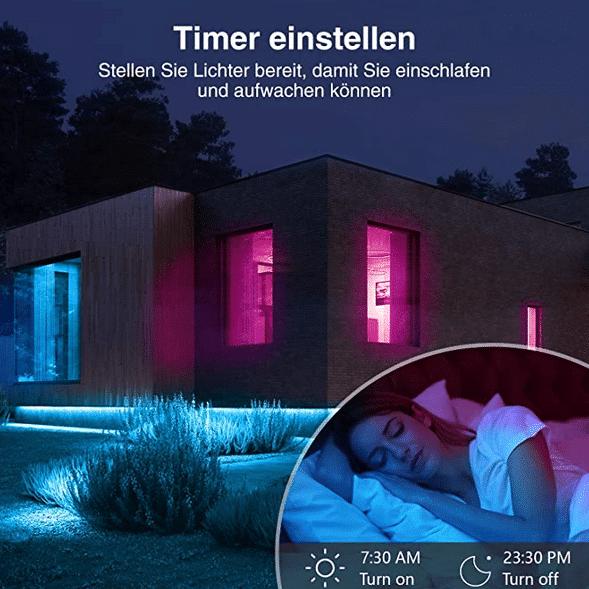 2021 05 12 15 46 13 Gosund Led Strip AlexaSmart LED Streifen App Steuerbar 5050 led Musik Lichtband