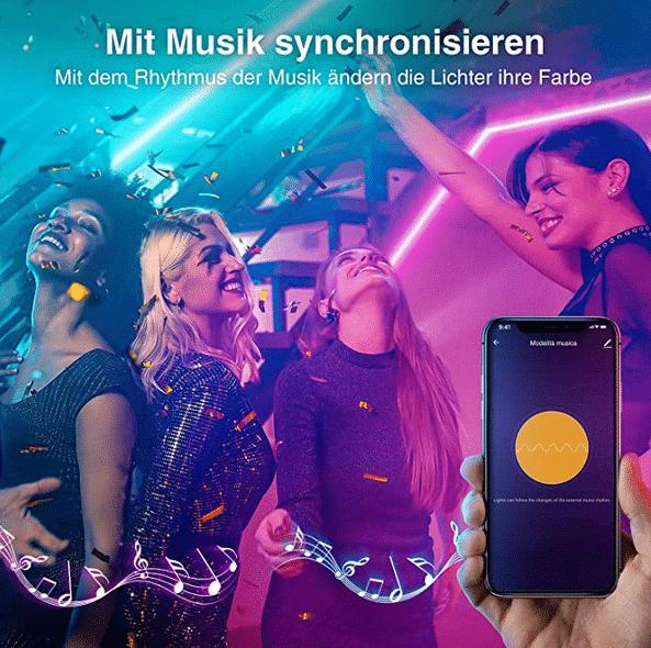 2021 05 12 15 52 57 Gosund Led Strip AlexaSmart LED Streifen App Steuerbar 5050 led Musik Lichtband