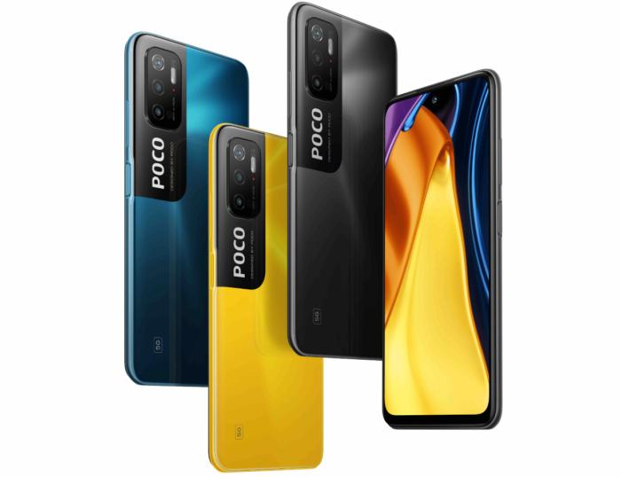 Poco M3 Pro 5G farbliche Varianten
