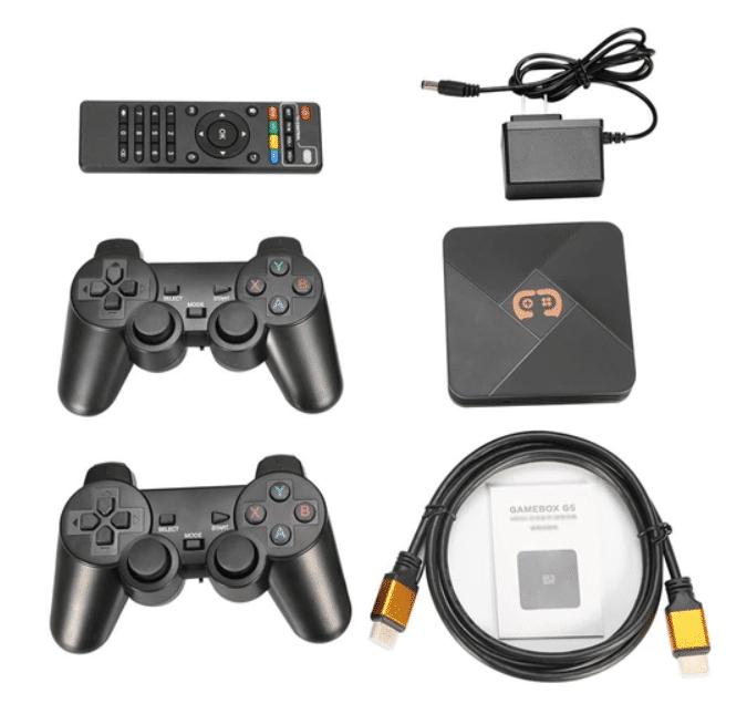 2021 05 21 18 40 37 GAMEBOX G5 32 GB Videospielkonsole mit 2 Gamepads