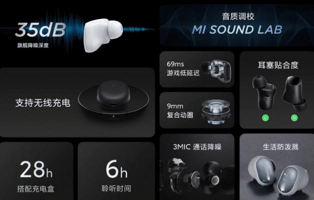 Redmi AirDots 3 Pro Technische Eigenschaften