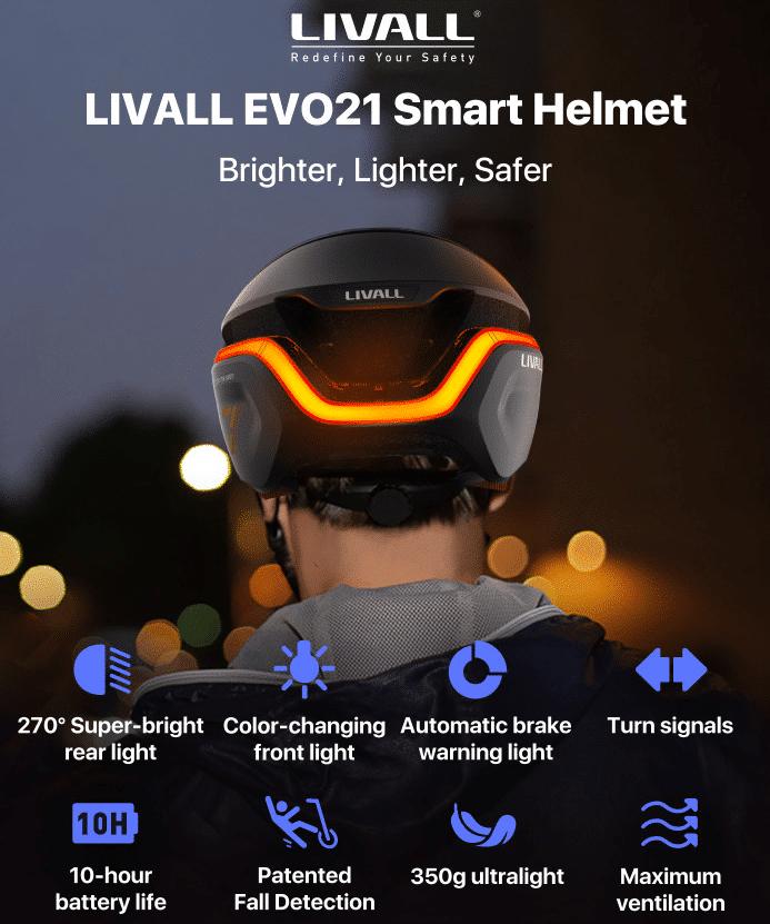 LIVALL EVO21 Funktionen