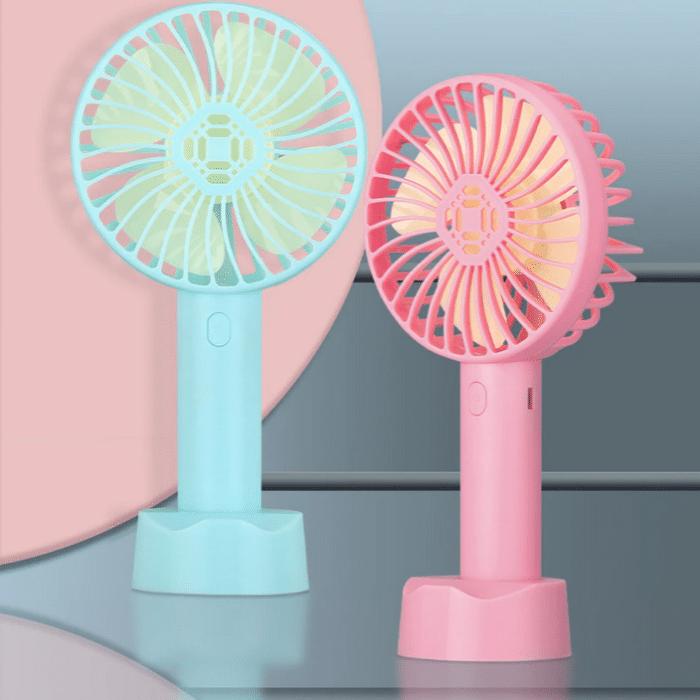 2021 05 31 15 40 19 Tragbare Handheld Fan Akku Mit Handy Halter Fuer Home Outdoor Sommer Luftkuehlung