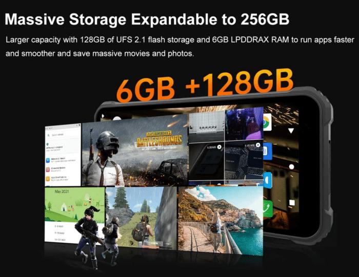 2021 06 01 10 54 27 OUKITEL WP9 Global Bands 6GB 128GB NFC 4G Smartphone