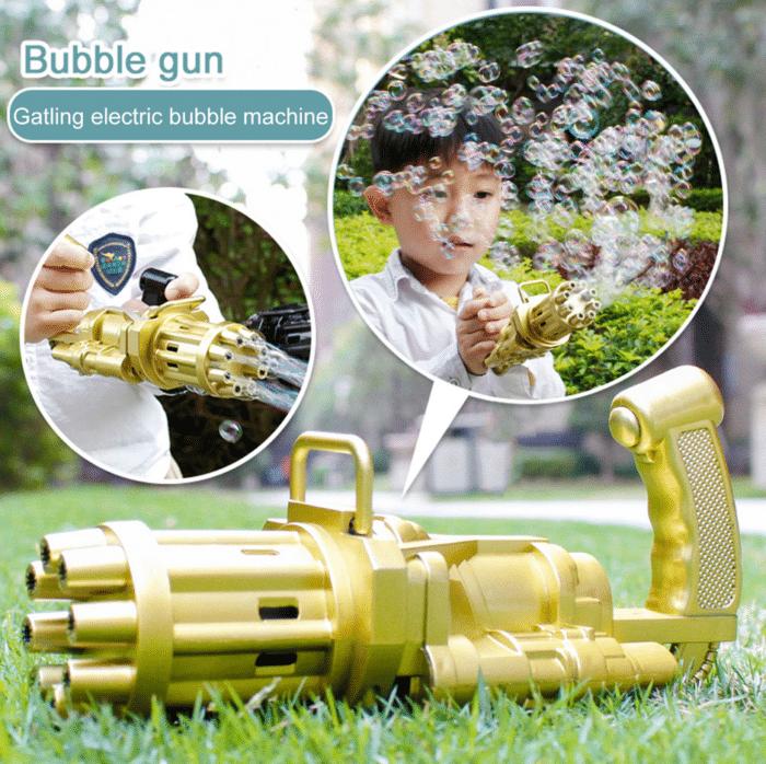 2021 06 02 13 12 35 Super Blase Maschine Automatische Gatling Blase Pistole Spielzeug Sommer Seife W
