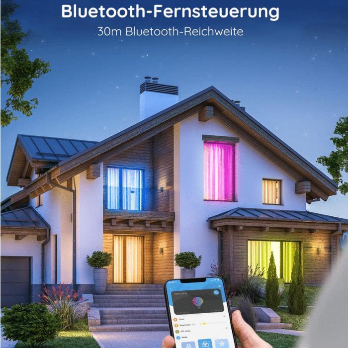 2021 06 07 11 06 57 Govee Smart LED Lampe A19 E27 7W Dimmbare RGBWW Gluehbirne mit App Steuerung via