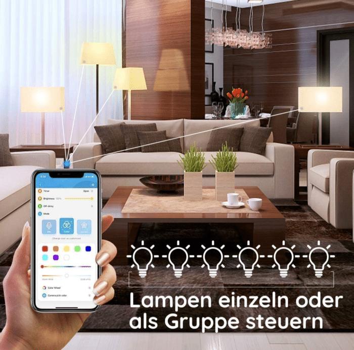 2021 06 07 11 07 36 Govee Smart LED Lampe A19 E27 7W Dimmbare RGBWW Gluehbirne mit App Steuerung via
