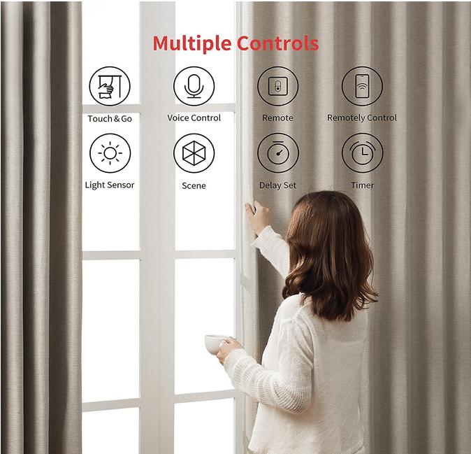 2021 06 08 15 15 37 Amazon.de  SwitchBot Curtain Smart Electric Motor   Wireless App or Automate Tim
