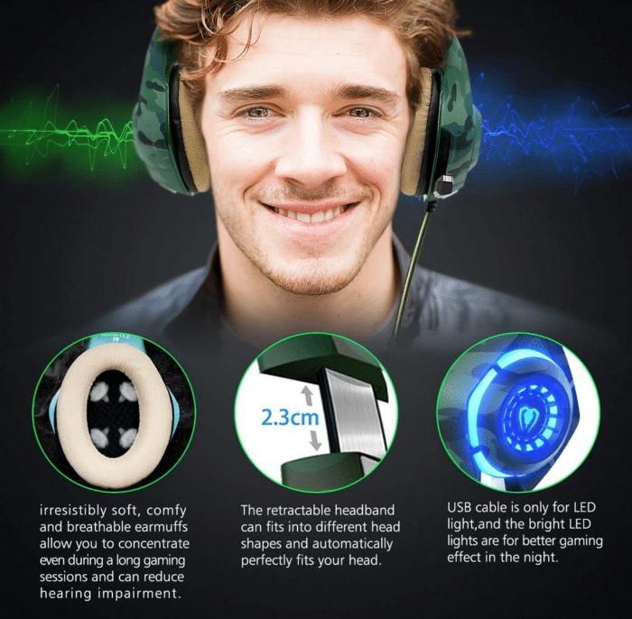2021 06 14 10 00 26 Beexcellent Gaming Headset fuer PS4 PC Xbox One LED  Amazon.de  Elektronik