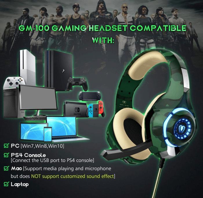2021 06 14 10 01 14 Beexcellent Gaming Headset fuer PS4 PC Xbox One LED  Amazon.de  Elektronik