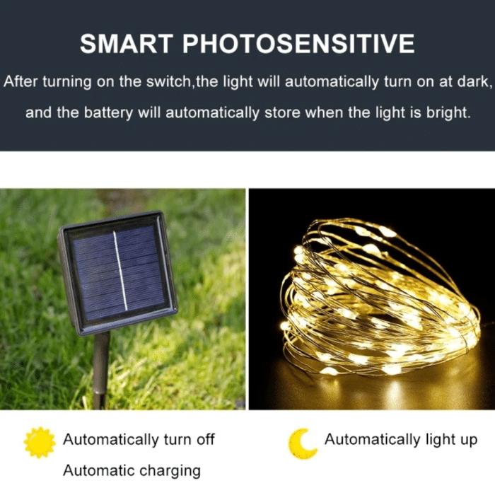 Solar Lichterkette Solar betrieben