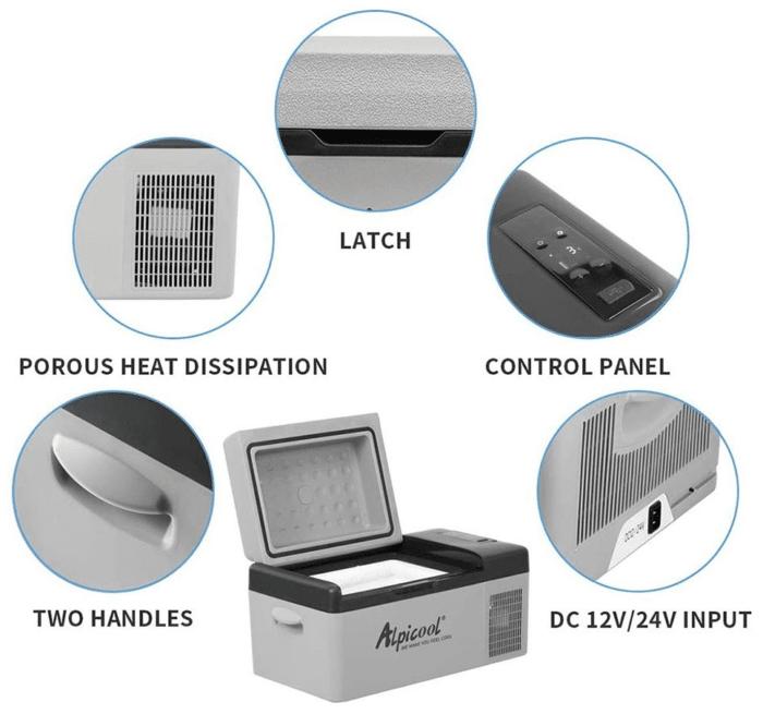 2021 06 17 13 32 05 Alpicool C20 Portable Mini Refrigerator Black