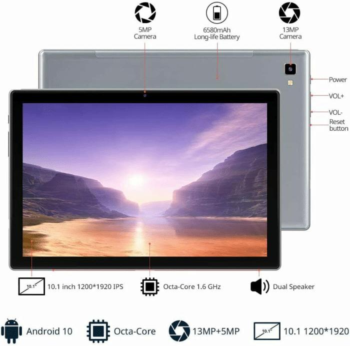 2021 06 17 15 06 39 Blackview Tab 8E 101  Android 10 WIFI Tablet PC 3GB RAM32GB 6580mAh  Keyboard