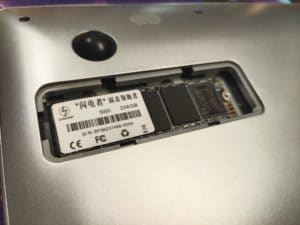 KUU A10 Festplatte