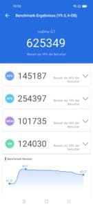Realme GT 5G Screenshoots System Performance