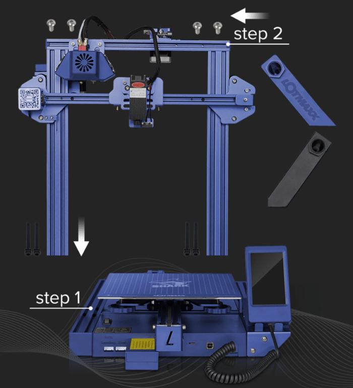 LOTMAXX Shark V2 3D schneller Aufbau