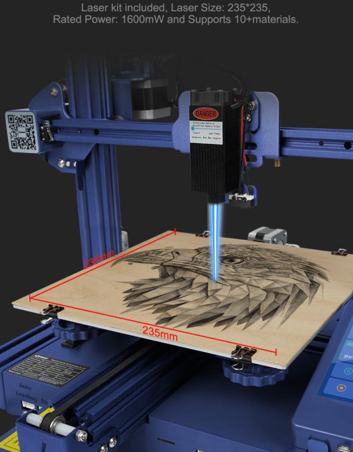 LOTMAXX Shark V2 3D Drucker Laser
