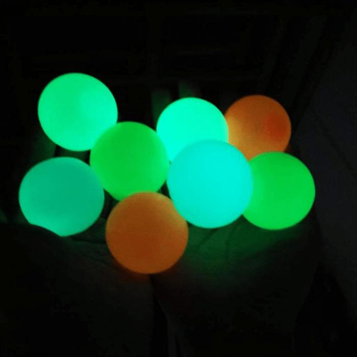 2021 07 16 10 09 00 8 Stueck Gobbles Sticky Balls Fluoreszierende Klebrige Wand Ball Anti Stress Rel