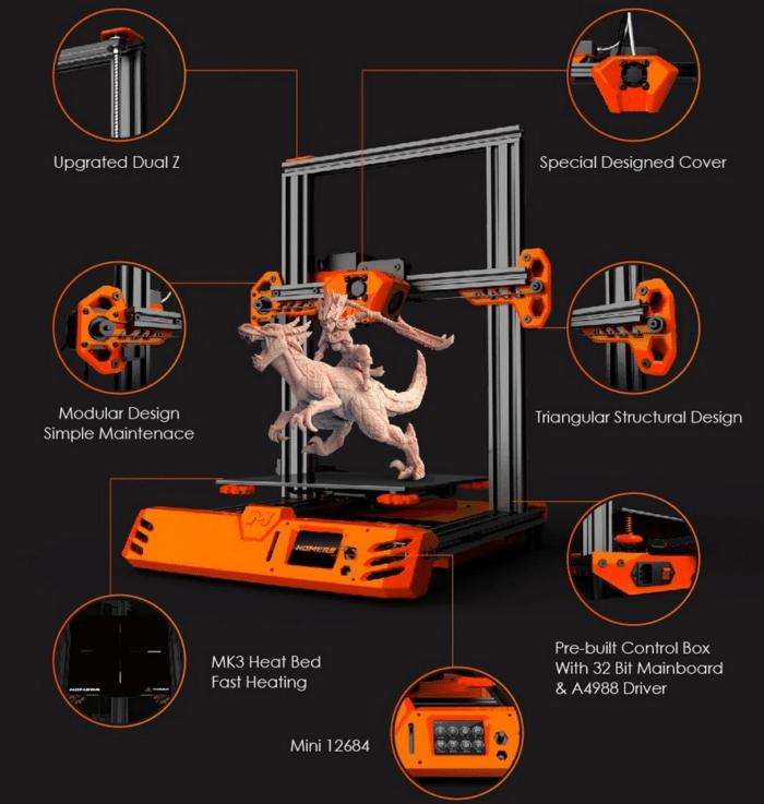 HOMERS/TEVO Tarantula Pro Technische Details