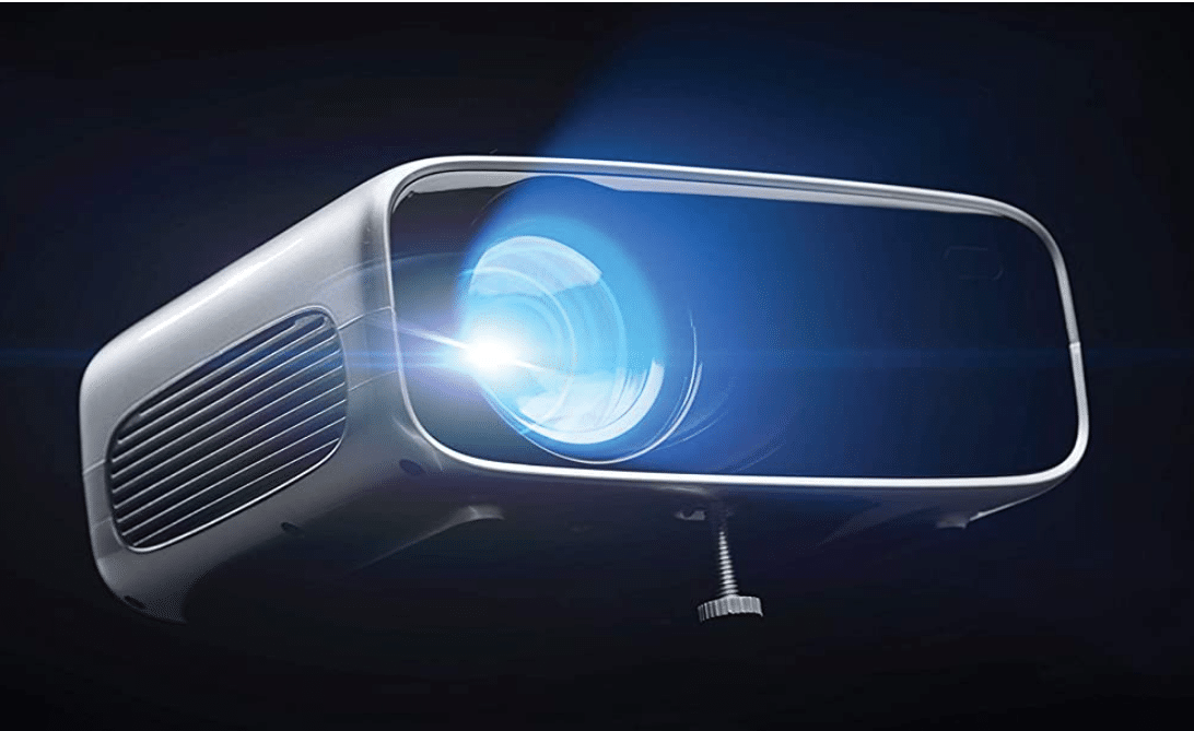 Philips NeoPix Prime 2 Projektor im Betrieb