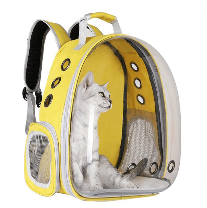 Katzenrucksack Gelber Rucksack
