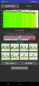 vivo V21 Test Performance CPU-Stress Test Screenshoot