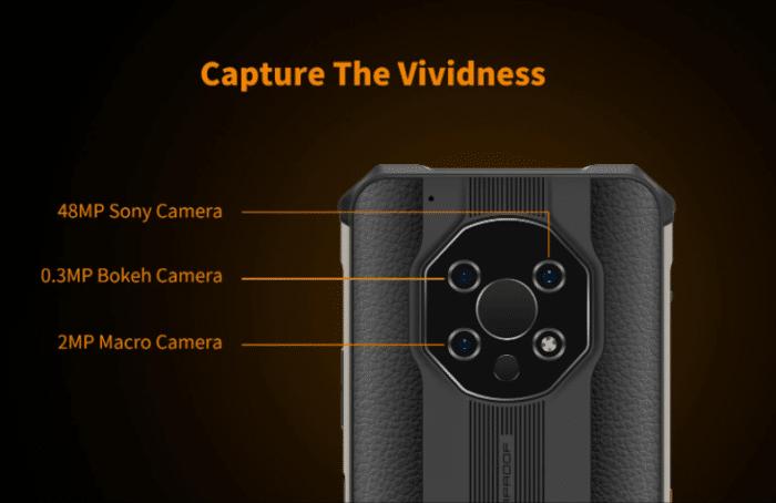 OUKITEL WP13 5G Rückseite  Kamera Setup