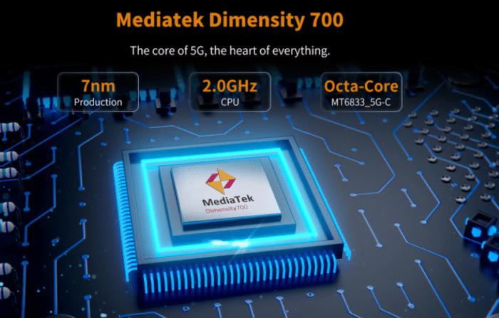 OUKITEL WP13 5G Mediatek Dimensity 700