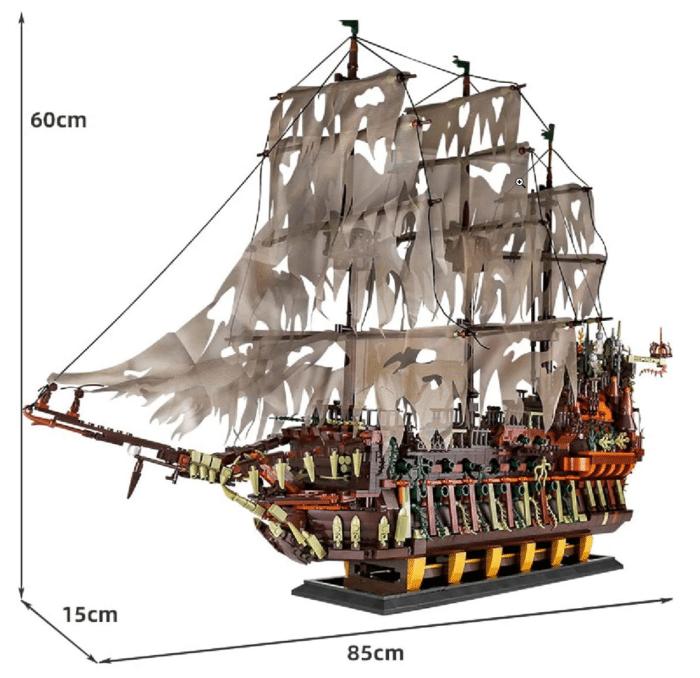 KEAYO_Piratenschiff Maße