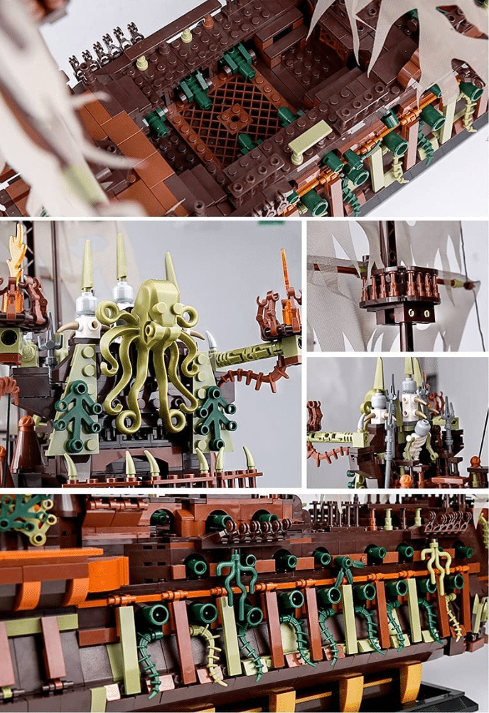 KEAYO Piratenschiff Details