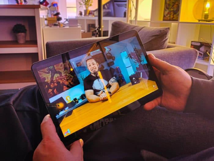 Xiaomi Mi Pad 5 Pro Handlich schick im Einsatz