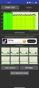 OnePlus Nord 2 Test CPU Screenshots Stress Test