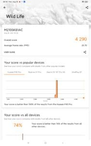 Xiaomi Mi Pad 5 Pro Screenshots Leistung 3D Mark