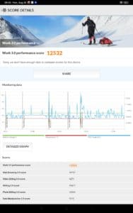 Xiaomi Mi Pad 5 Pro Screenshots Leistung