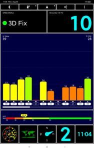 Xiaomi mi Pad 5 Pro Screenshoot GPS & WLAN