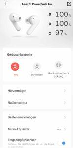 Amazfit PowerBuds Pro App