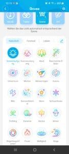 Govee RGBIC LED Streifen Govee App & Einstellungen