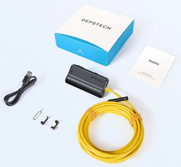 DEPSTECH Endoskopkamera WiFi Produktbild