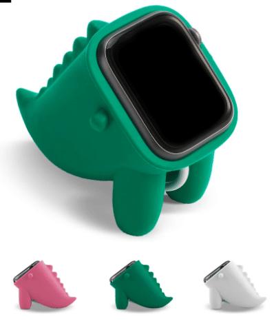 Silikon apple watch halter dinosaurier