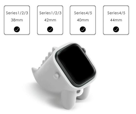 Silikon apple watch halter maße