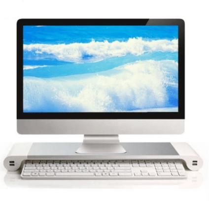 Aluminum Desktop Monitor Stand Produktbild