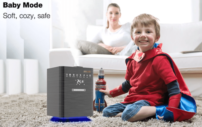 BlitzWolf Luftbefeuchter BW-SH5 Baby Mode