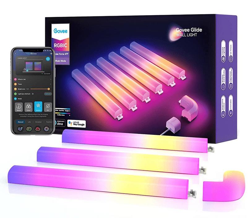 Govee Glide Wall Light Modulare Leuchtröhren mit App Steuerung