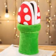 Super Mario Hausschuhe Produktbild Plüschig
